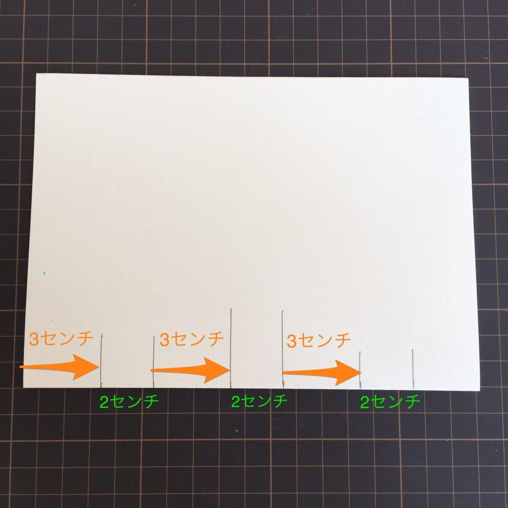 折り線からの距離