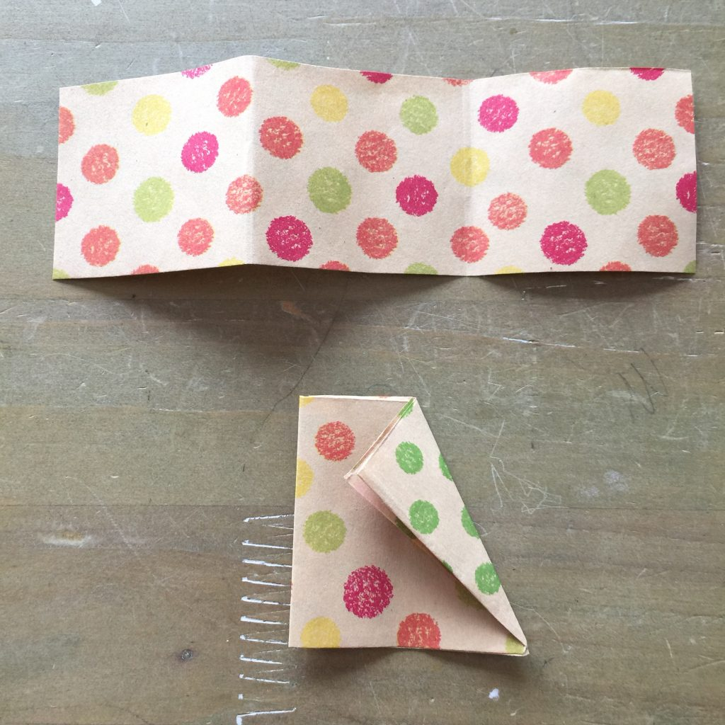 折り紙三等分