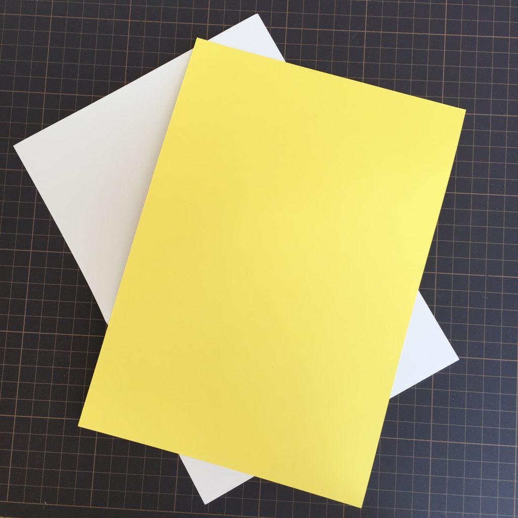 カードの用紙