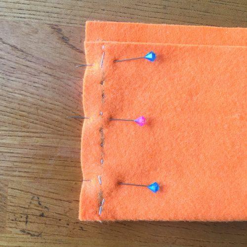 初めての手芸縫い目